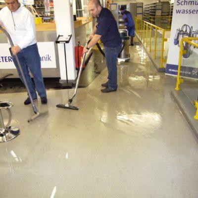 Reinigung nach Wasserschaden